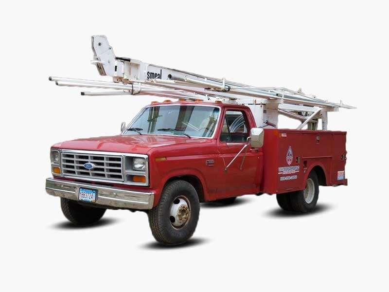Waters Drilling and Pump Service Truck