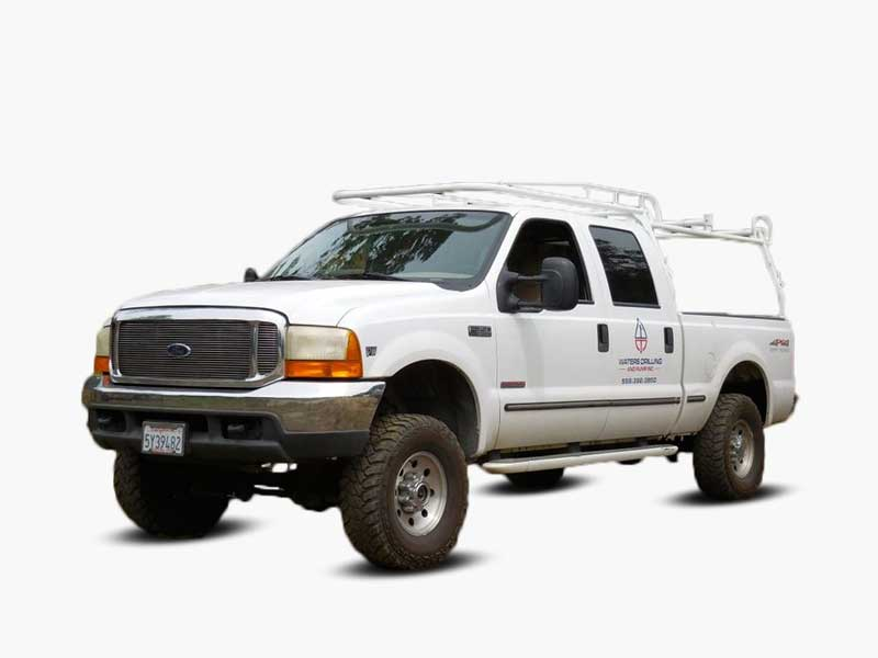 Waters Drilling and Pump Estimate Truck