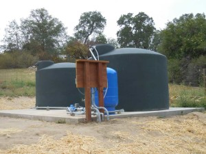 Waters Well Storage System
